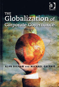 Cover of The Globalization of Corporate Governance
