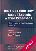 Cover of Jury Psychology: Social Aspects of Trial Processes (eBook)