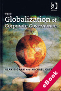 Cover of The Globalization of Corporate Governance (eBook)