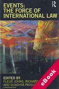 Cover of Events: The Force of International Law (eBook)