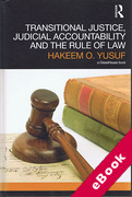 Cover of Transitional Justice, Judicial Accountability and the Rule of Law (eBook)