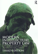 Cover of Modern Intellectual Property Law