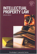 Cover of Routledge Lawcards: Intellectual Property Law 2010 - 2011