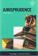 Cover of Routledge Lawcards: Jurisprudence 2010 - 2011