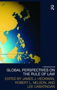 Cover of Global Perspectives on the Rule of Law