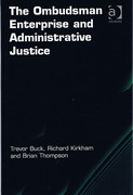 Cover of The Ombudsman Enterprise and Administrative Justice