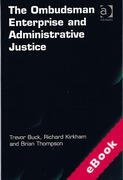 Cover of The Ombudsman Enterprise and Administrative Justice (eBook)