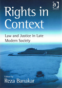 Cover of Rights in Context: Law and Justice in Late Modern Society