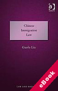 Cover of Chinese Immigration Law (eBook)