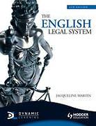 Cover of The English Legal System