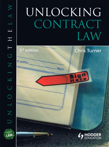 unlocking contract law 3rd edition