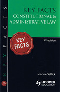 Cover of Key Facts: Constitutional and Administrative Law