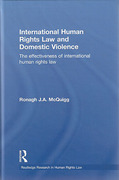Cover of International Human Rights Law and Domestic Violence: The Effectiveness of International Human Rights Law