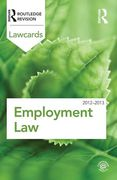Cover of Routledge Lawcards: Employment Law 2012-2013
