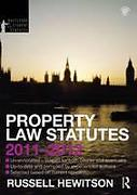 Cover of Routledge Student Statutes: Property Law Statutes 2011 - 2012