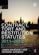 Cover of Routledge Student Statutes: Contract, Tort and Restitution Statutes 2011-2012