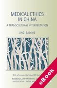 Cover of Medical Ethics in China: A Transcultural Interpretation (eBook)
