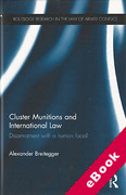 Cover of Cluster Munitions and International Law (eBook)