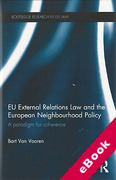 Cover of EU External Relations Law and the European Neighbourhood Policy: A Paradigm for Coherence (eBook)
