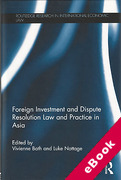 Cover of Foreign Investment and Dispute Resolution Law and Practice in Asia (eBook)