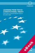 Cover of Learning from the EU Constitutional Treaty: Democratic Constitutionalization Beyond the Nation-state (eBook)