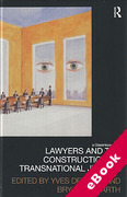 Cover of Lawyers and the Construction of Transnational Justice (eBook)