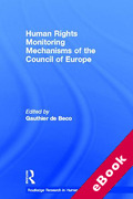 Cover of Human Rights Monitoring Mechanisms of the Council of Europe (eBook)