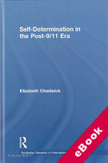 Cover of Self Determination in the Post 9/11 Era (eBook)