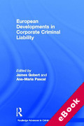 Cover of European Developments in Corporate Criminal Liability (eBook)
