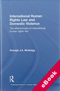 Cover of International Human Rights Law and Domestic Violence: The Effectiveness of International Human Rights Law (eBook)