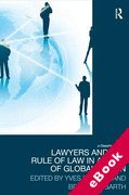 Cover of Lawyers and the Rule of Law in an Era of Globalization (eBook)
