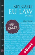 Cover of Key Cases: EU Law (eBook)