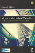Cover of Modern Methods of Valuation