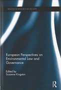 Cover of European Perspectives on Environmental Law and Governance
