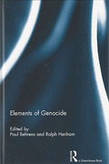 Cover of Elements of Genocide
