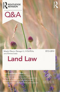 Cover of Routledge Revision Q&A: Land Law 2013 - 2014