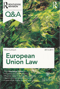 Cover of Routledge Revision Q&A: European Union Law 2013 - 2014