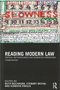 Cover of Reading Modern Law: Critical Methodologies and Sovereign Formations: Essays in Honour of Peter Fitzpatrick