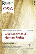 Cover of Routledge Revision Q&A: Civil Liberties and Human Rights 2013-2014