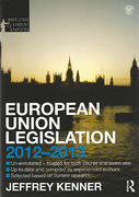 Cover of Routledge Student Statutes: European Union Legislation 2011-2012