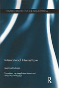 Cover of International Internet Law