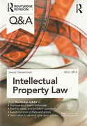 Cover of Routledge Revision Q&A: Intellectual Property Law 2012 - 2013
