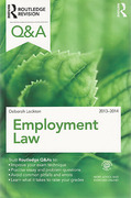 Cover of Routledge Revision Q&A: Employment Law 2013 - 2014