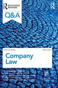 Cover of Routledge Revision Q&A Company Law 2013-2014