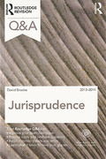 Cover of Routledge Revision Q&A: Jurisprudence 2013- 2014