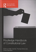 Cover of Routledge Handbook of Constitutional Law