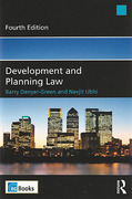 Cover of Development and Planning Law