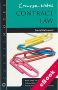 Cover of Course Notes: Contract Law (eBook)