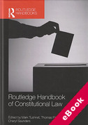 Cover of Routledge Handbook of Constitutional Law (eBook)