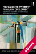 Cover of Foreign Direct Investment and Human Development: Improving International Investment Law (eBook)